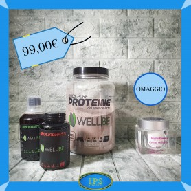 KIT PROMO WELL BE + CREMA ANTICELLULITE